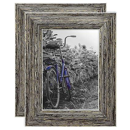 amazon com americanflat white rectangular modern wall mirror 24x30