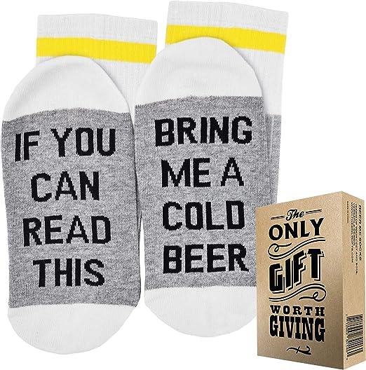 Amazon.com: Calcetines de cerveza + caja de regalo si se ...