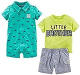 Simple Joys by Carter's Baby Boys' 3-Piece Playwear