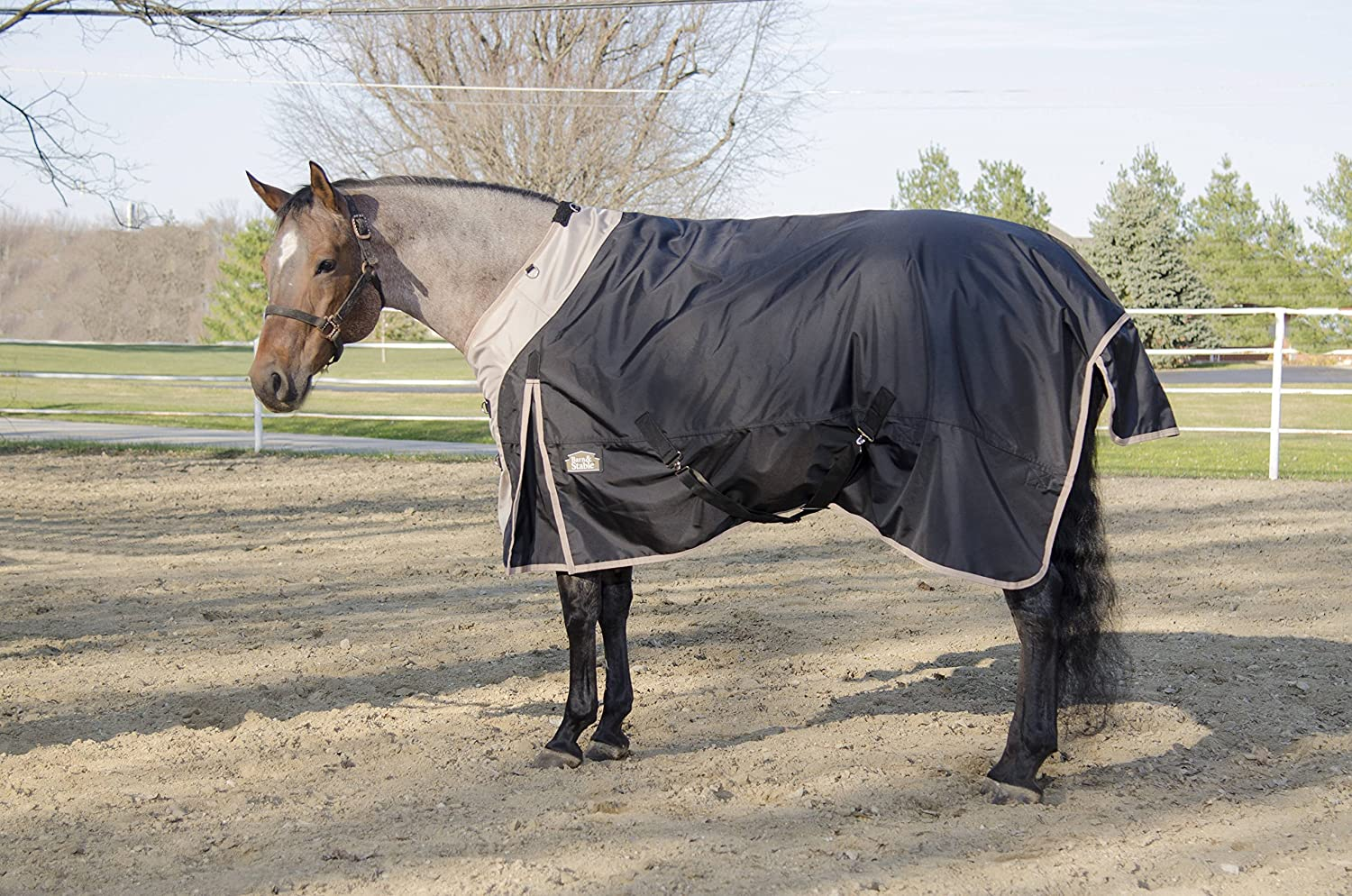 Barn & Stable Horse Blanket Turnout Blanket 1680D, 210D Lining and 200grm Fill Barn&Stable
