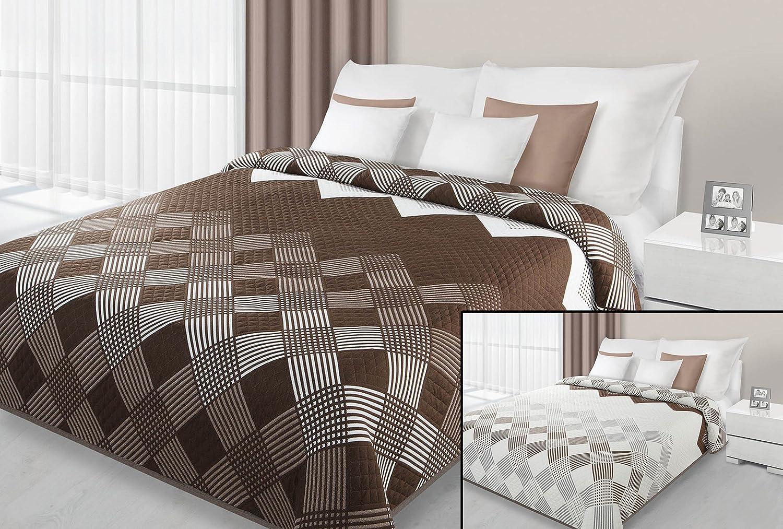 Tagesdecke Bettüberwurf 230x260 viele Muster