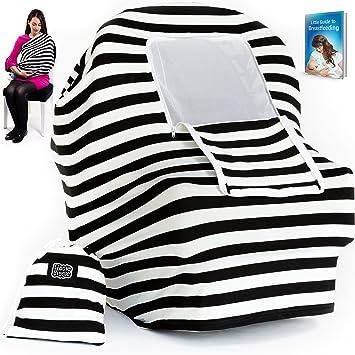 Amazon Com Baby Car Seat Cover Nursing Cover Multiuse