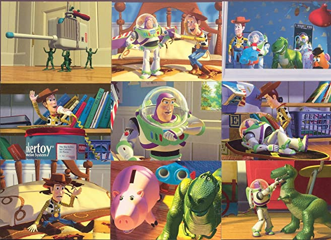 Toy Story Series 1 1995 Skybox Complete Base Card Set Badge Set Of
