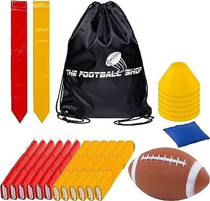 Fútbol la patada soporte – con espinilleras protección Kick Off ...
