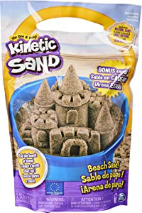 Kinetic Sand, 3.25lbs Beach Sand for Squishing, Mixing and Molding, for Kids Aged 3 and Up, Amazon Exclusive