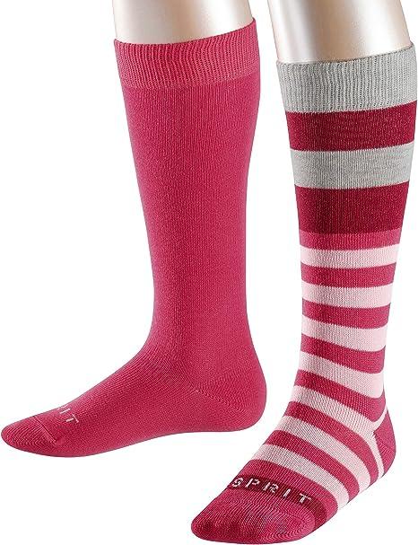ESPRIT Sprinkle Stripe Chaussettes Antid/érapantes Mixte Enfant Du 2 Au 16 Ans Coton 1 Paire Plusieurs Coloris