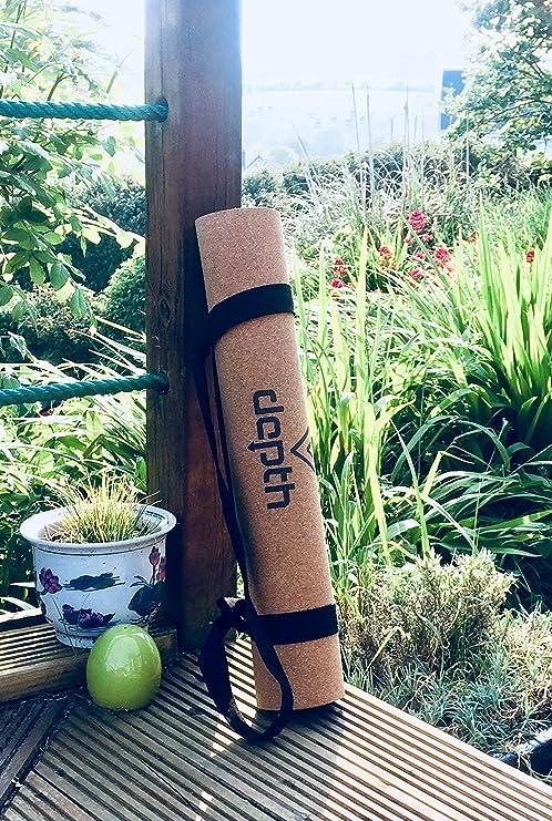 Esterilla de corcho para yoga: Amazon.es: Deportes y aire libre