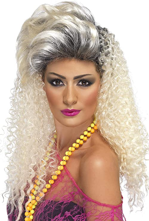 80s Costumes, Outfit Ideas- Girls and Guys Smiffys 80s Crimp Wig $12.52 AT vintagedancer.com