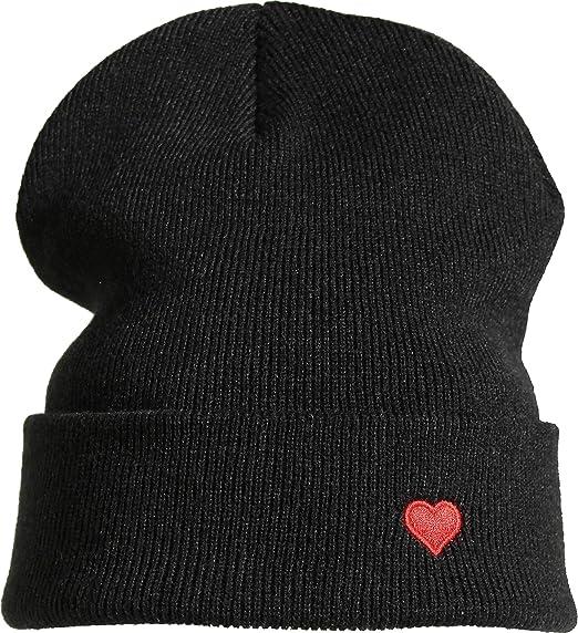 Gorro : Corazón - Amor - Gorras de Hombre y Mujer Gorros Invierno ...