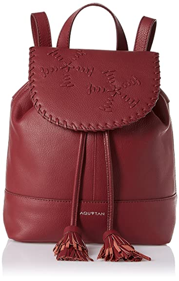 AQUATAN Boho Whipstitch Girls Shoulder Bag (Berry) (AT-M03-05)