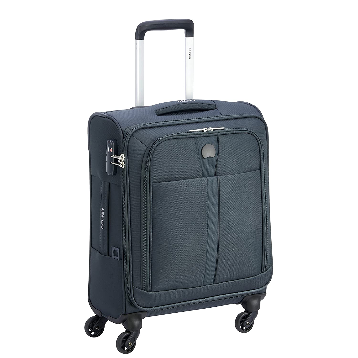 Delsey Paris Maloti Bagage Cabine, 44 Litres, Anthracite 353480301