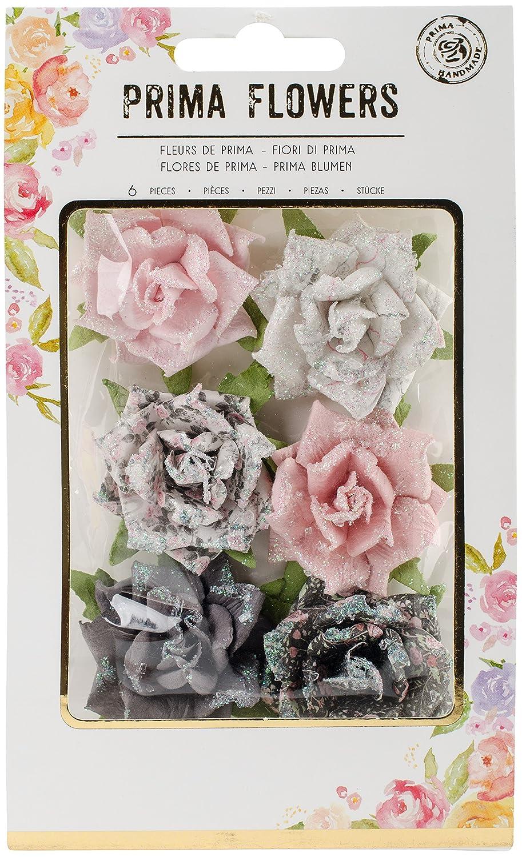 Unbekannt Prima Marketing Rosenquarz Blumen Set, Mehrfarbig, 17.27 X 20.82 X 0,93 cm 655350595081