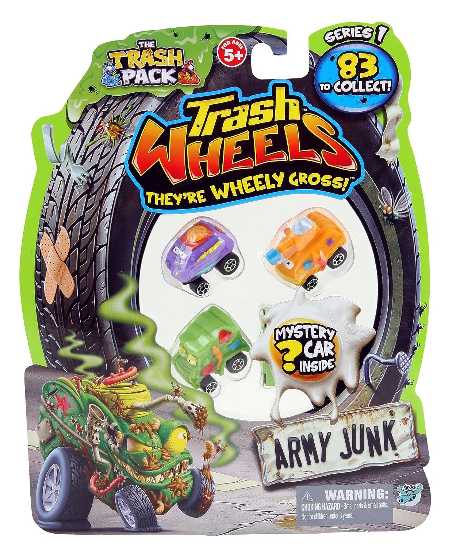 Trash Pack 4 Trash Wheels: Amazon.co.uk: Toys & Games