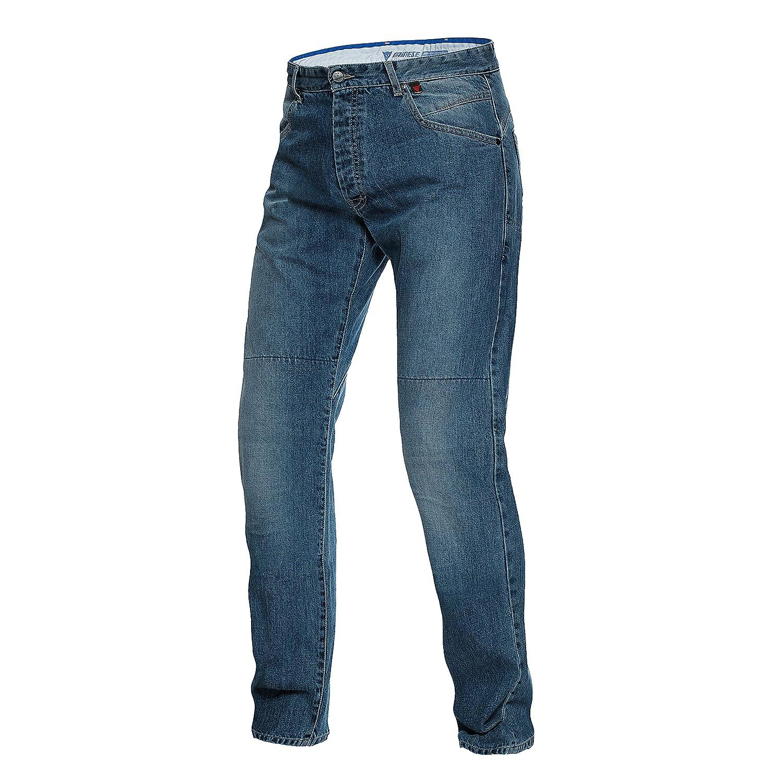 TALLA 34. Dainese-BONNEVILLE REGULAR Jeans, MEDIUM-Denim, Talla 34