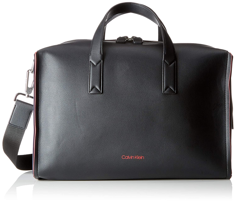 Calvin Klein K50K503924 DOUBLE EDGE LANIERE Homme Sac homme Noir (Black/Navy/ Rose) 22x26x41 cm (B x H T) Calvin Klein Jeans