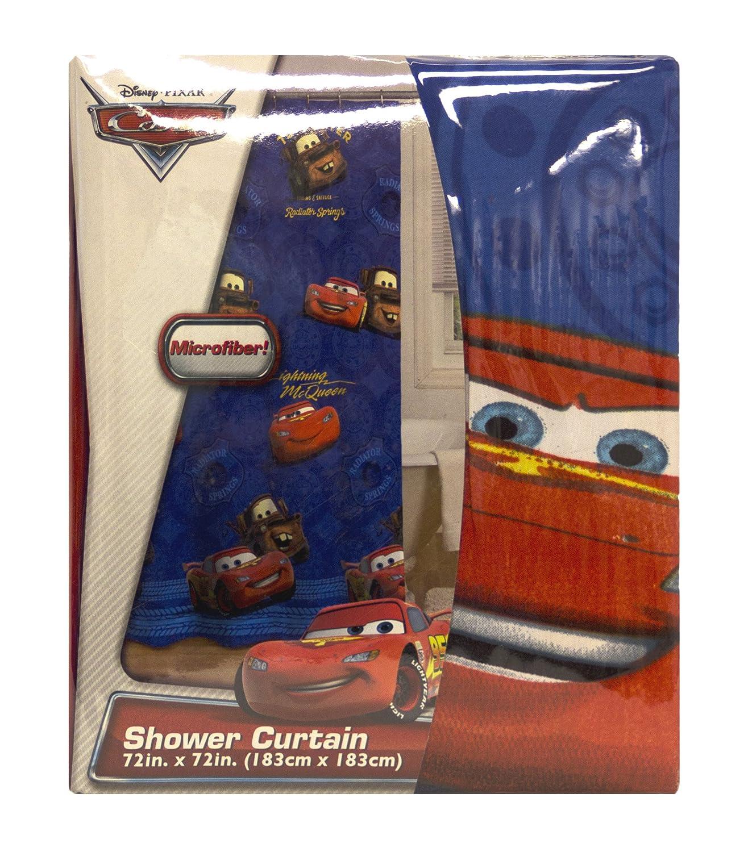 Amazon Disney Pixar Cars Micro Fiber Shower Curtain Home Kitchen