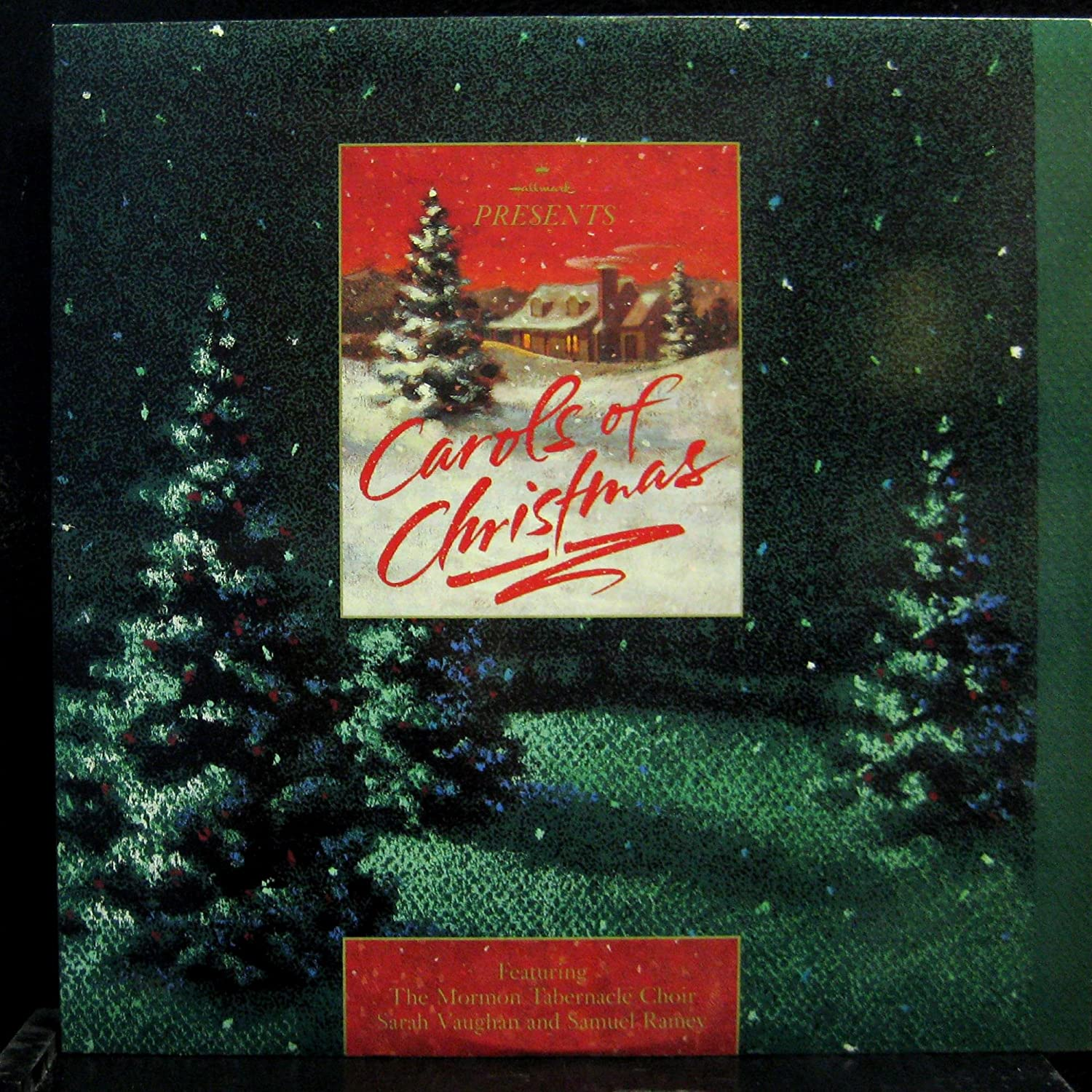 Mormon Tabernacle Choir Christmas 2020 Sarah Mormon Tabernacle Choir, Sarah Vaughan, Samuel Ramey   Carols of