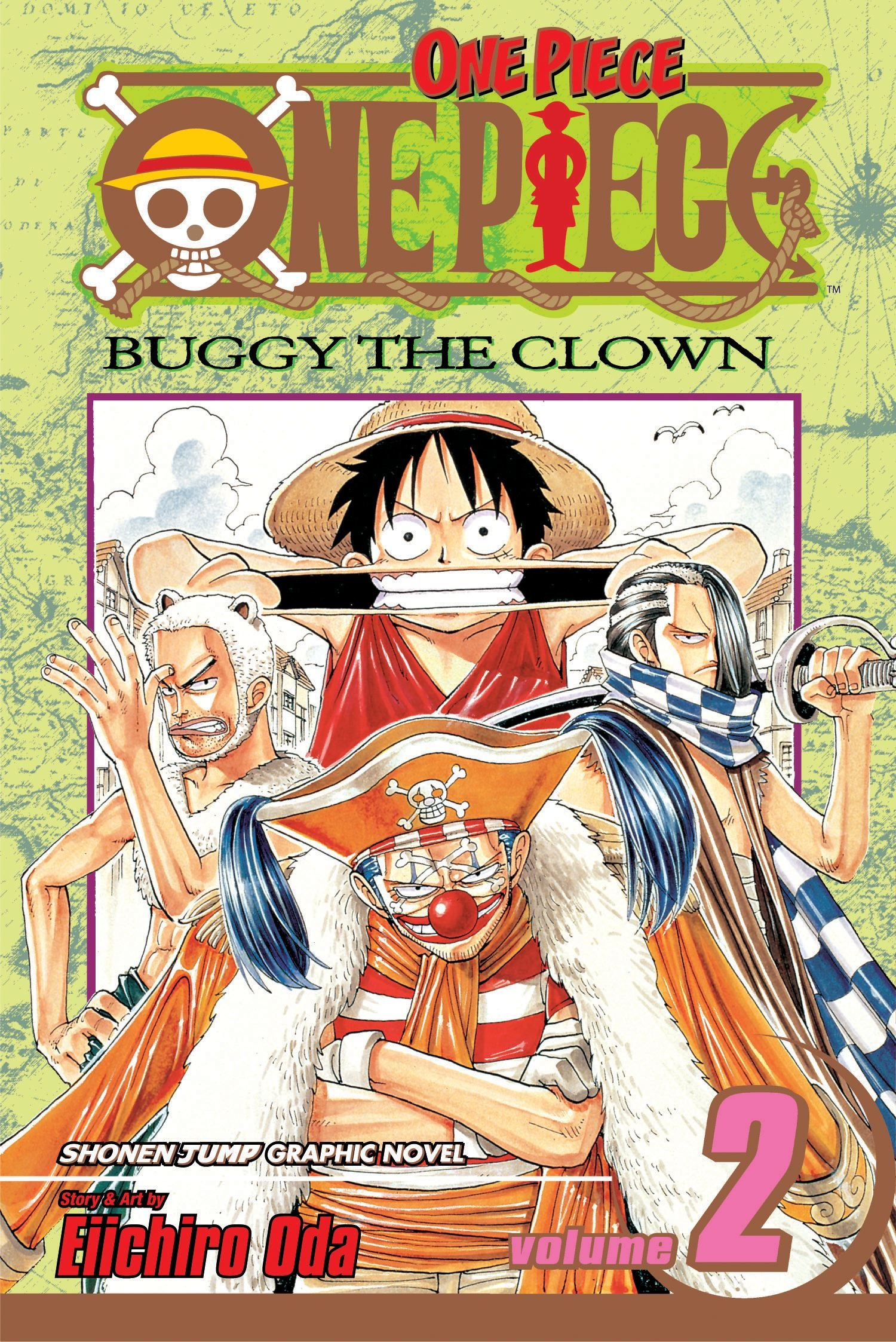 One Piece, Vol. 10: OK, Lets Stand Up! (One Piece Graphic Novel)
