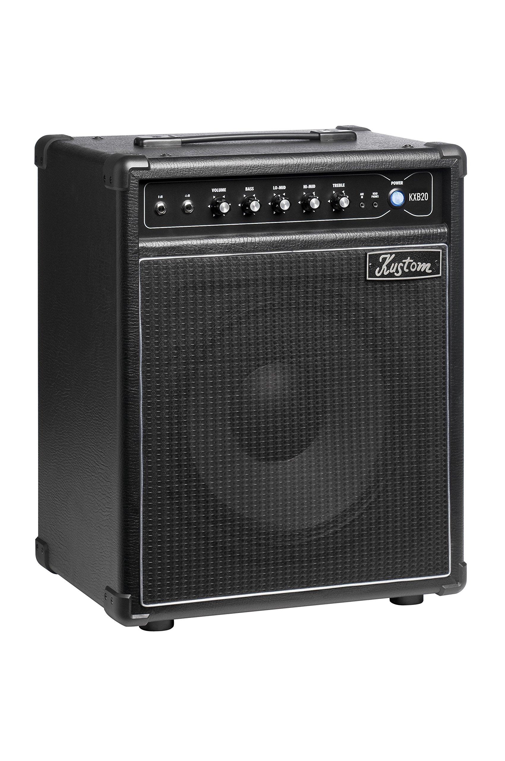 Kustom KXB20 20W Bass Combo Amplifier, 1x12''