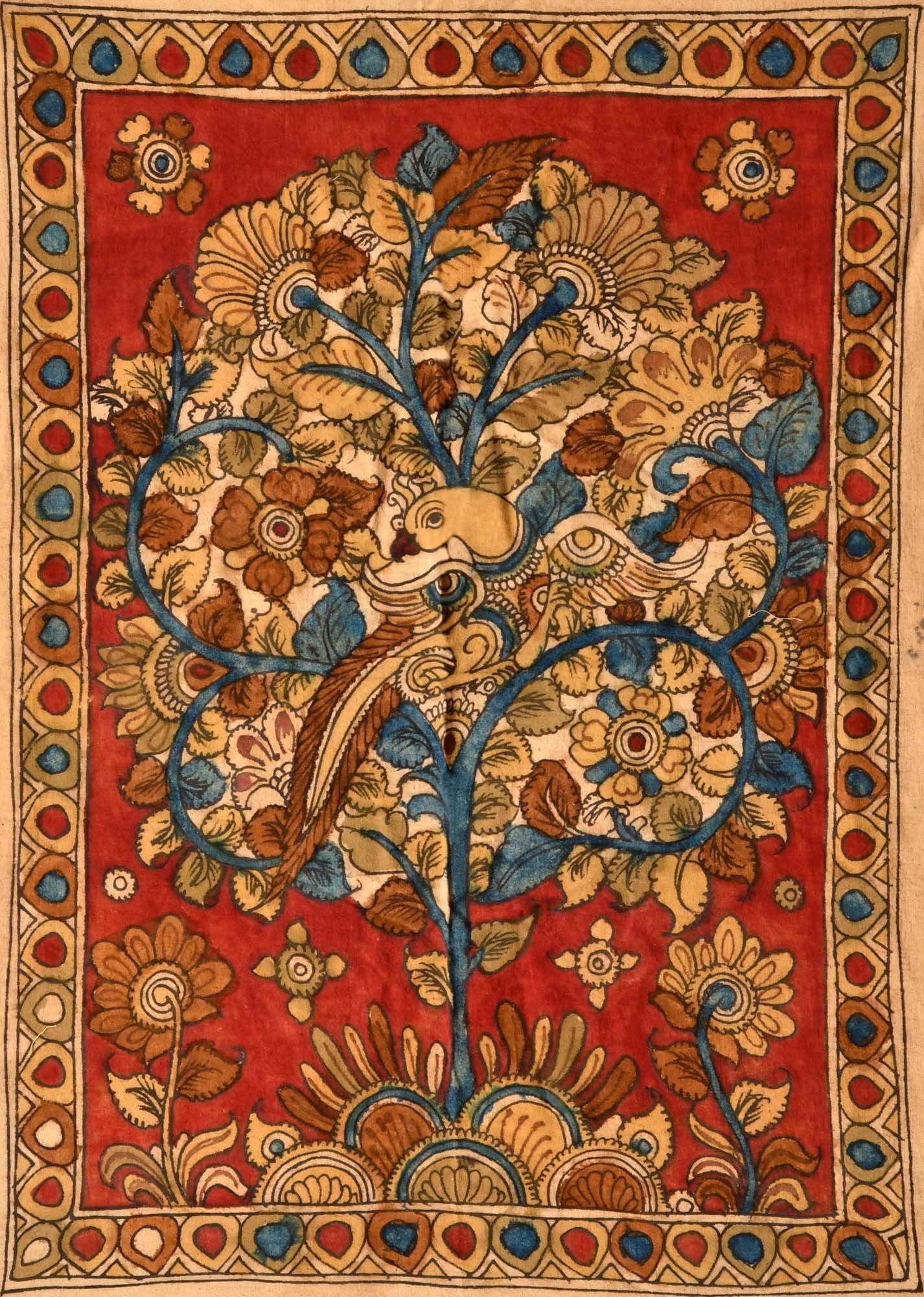 Tree of Life - Kalamkari Painting on Cotton