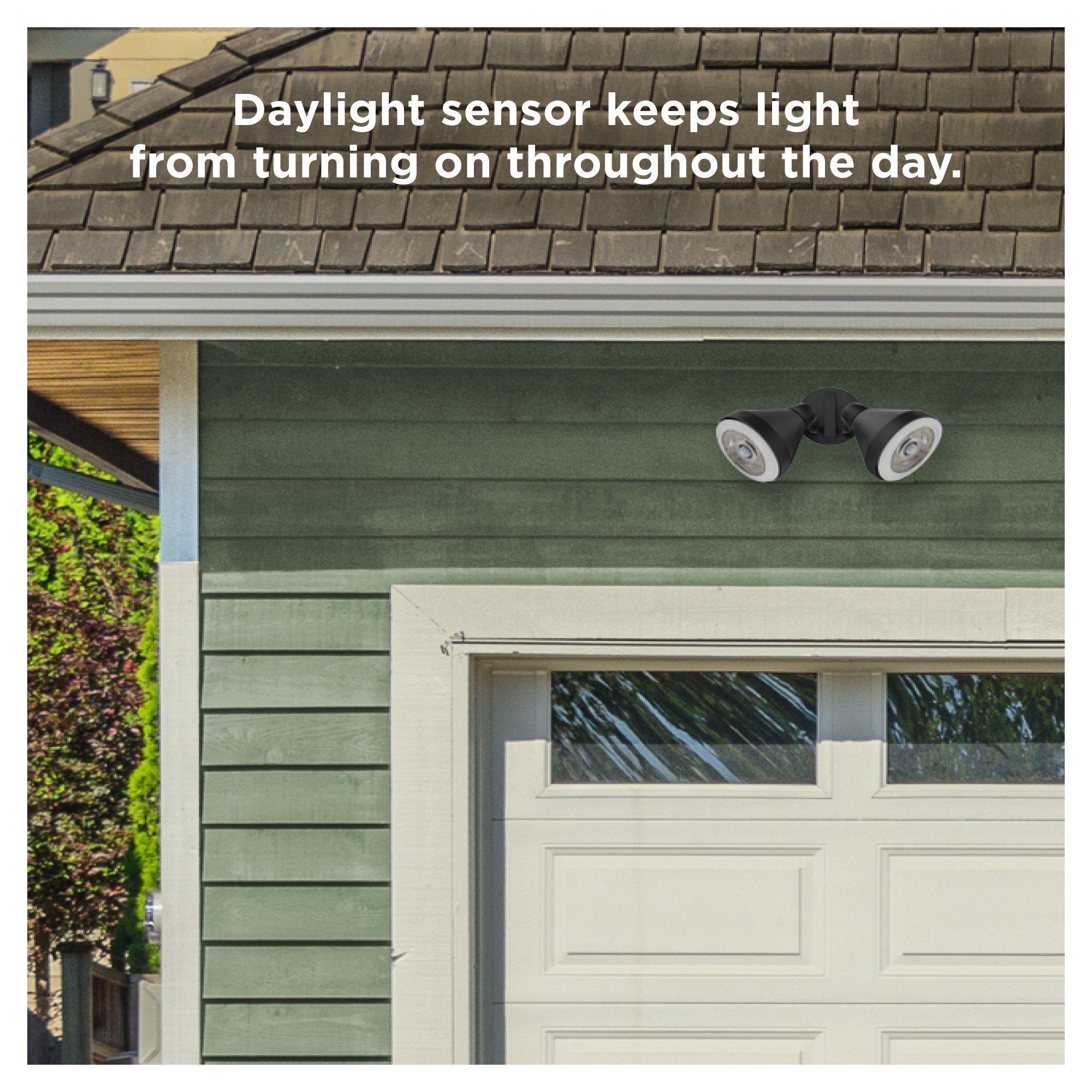 Sengled LED Flood Light with Motion Sensor & Daylight Sensor, Smart LED Light Bulb PAR38, Dusk to Dawn Bulb, Waterproof 3000K for Outdoor Use, 2 Pack by Sengled (Image #6)