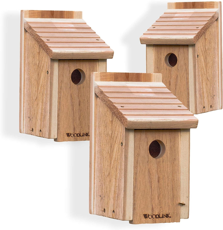 Wooden Bluebird House,