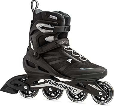 Rollerblade Zetrablade Men's Inline Fitness SilverPerformance SkateBlack SkatesRenewed Inline Adult and 08wPOnk