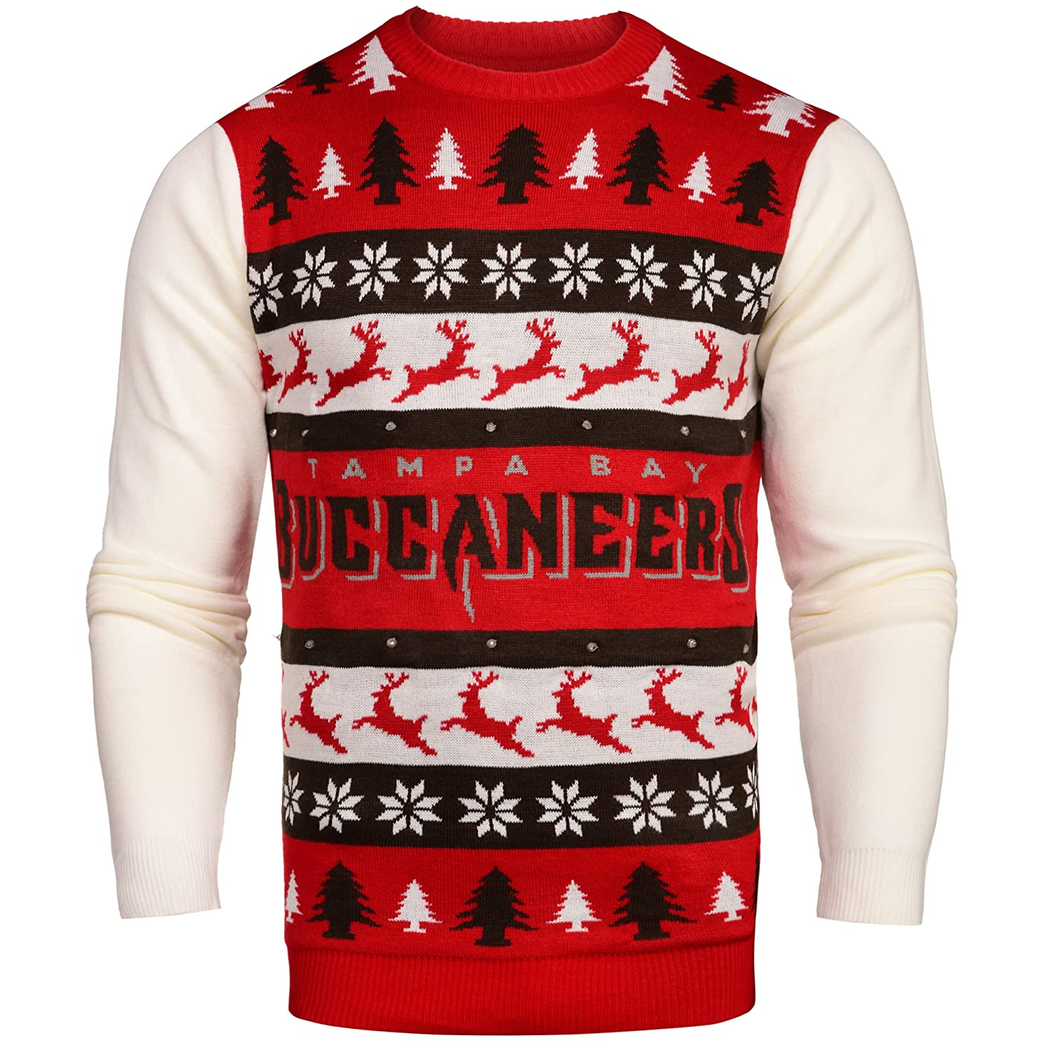 new styles 8e94e 0eb6b Buy Tampa Bay Buccaneers One Too Many Light Up Sweater ...