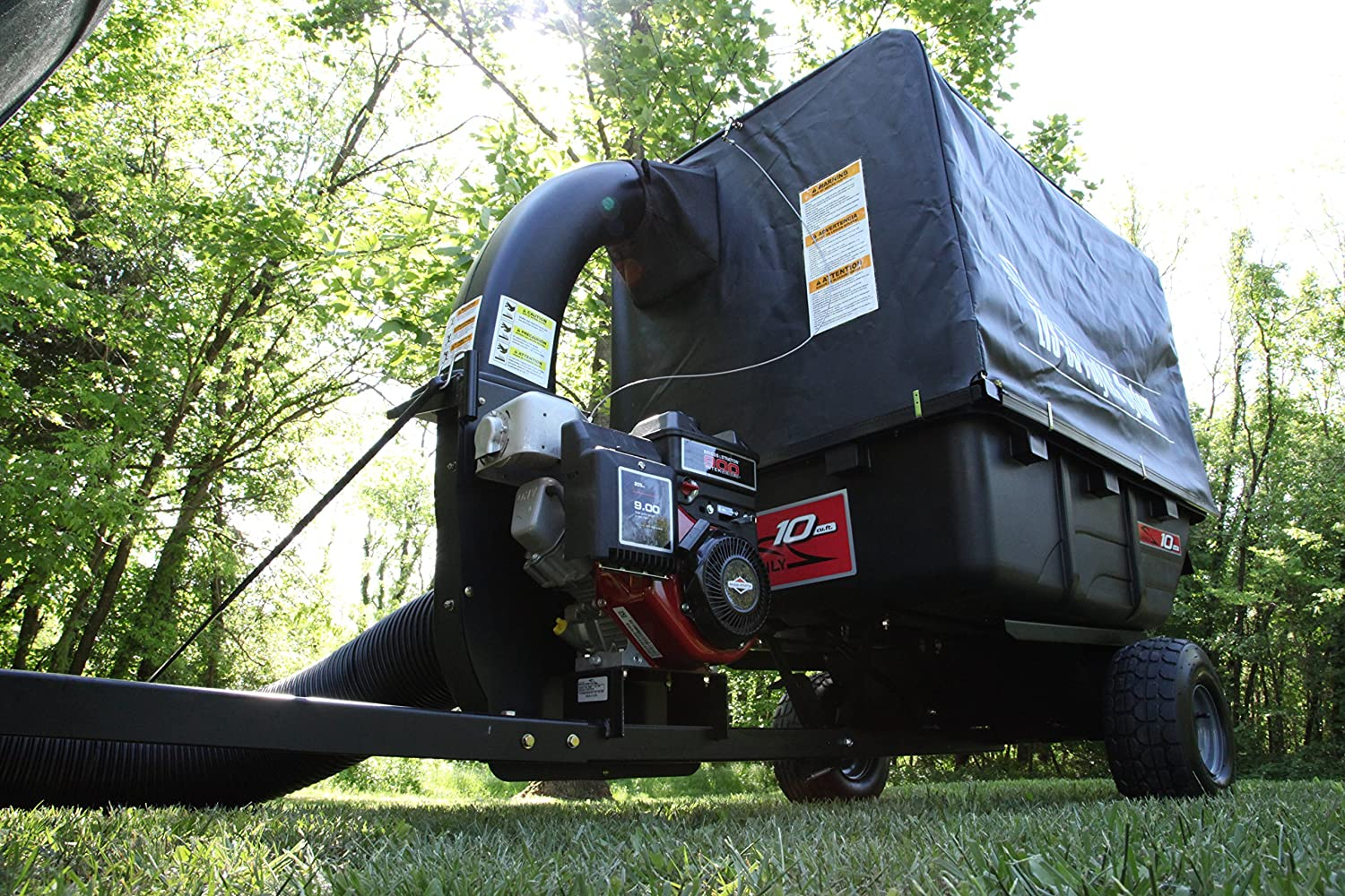 The Best Lawn Sweeper For Quick Leaf Cleanup Reviews 2017