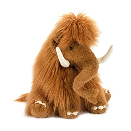 Jellycat Maximus Mammoth Stuffed Animal, 19 inches