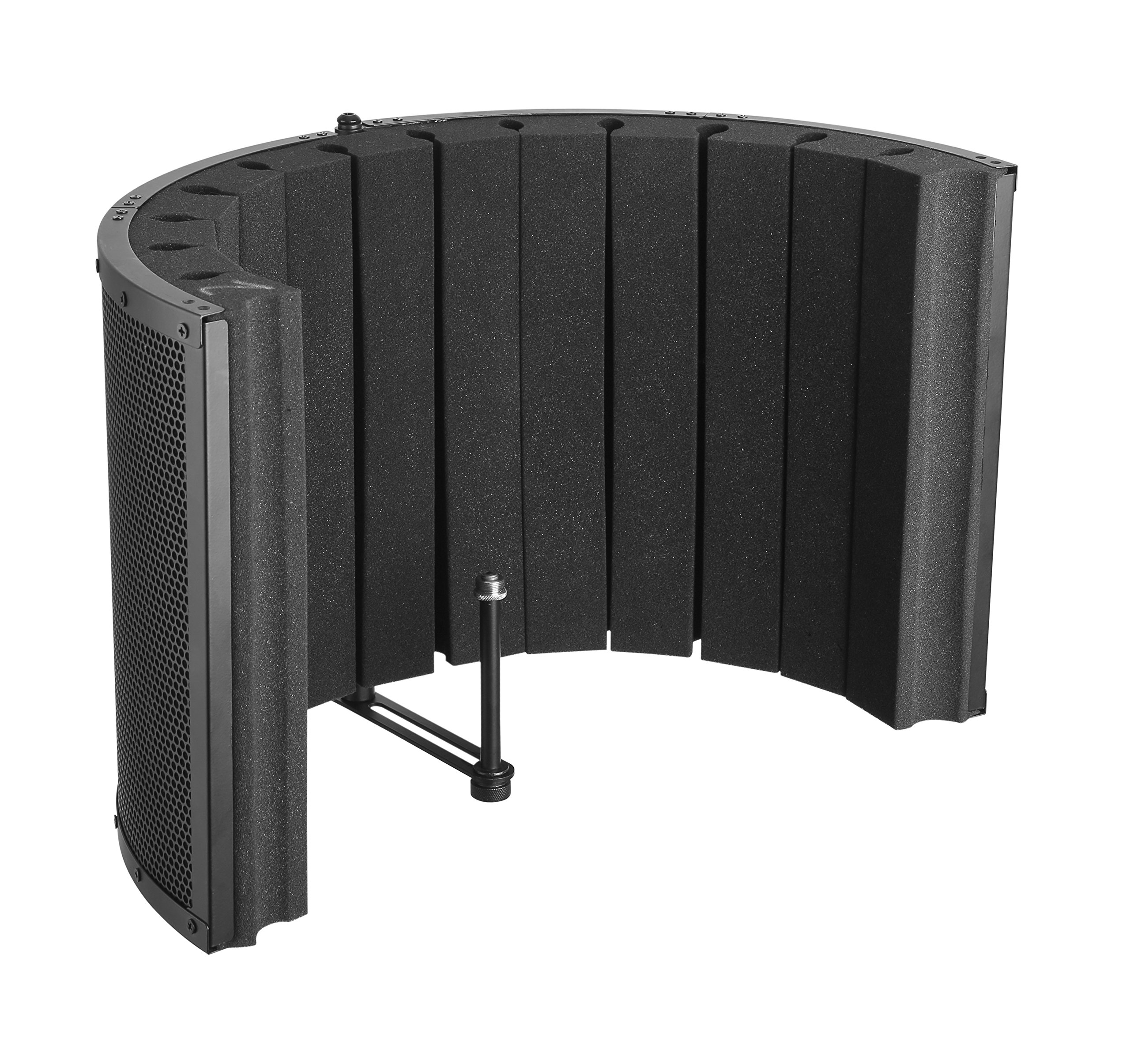 Bison Prosound Portable Sound Absorbing Vocal Booth Recording Panel - Stand Mount by Bison Prosound