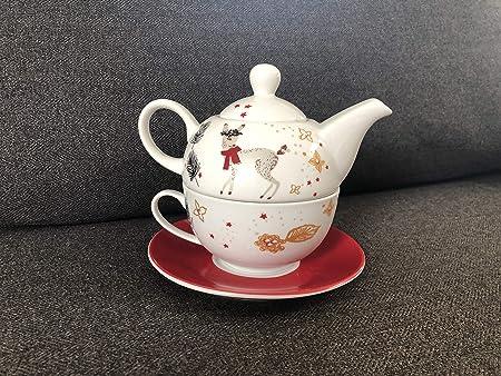 Ivyday Edelstahl Weihnachtsl/öffel Set Kaffee Tee Dessert Getr/änk Mischl/öffel H/ängetasse L/öffel K/üchenhelfer