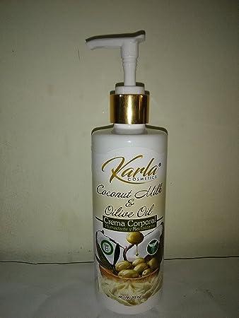 Amazon.com: Karla aceite de coco y aceite de oliva crema ...