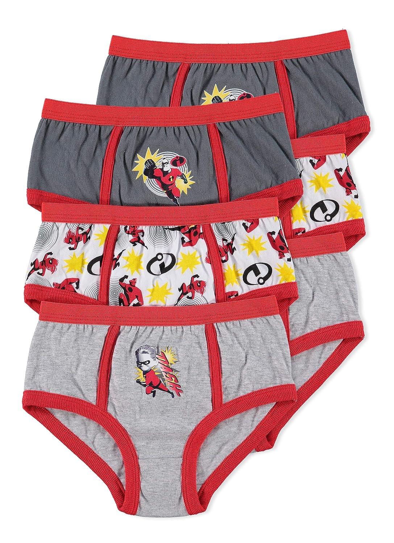 Disney Incredibles 2 Boys Underwear | Briefs 6-pack Jellifish Kids