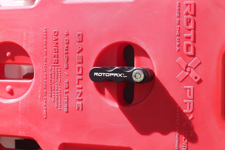 Rotopax Rx 1 75g Benzin Pack 1 75 Liter Kapazität 4 Gallon Rot Auto