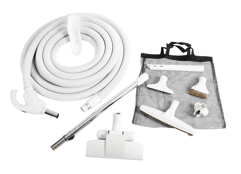 Cen-Tec Systems 93642 Central Vacuum Low Voltage Kit 35 Ft. Hose Light Gray