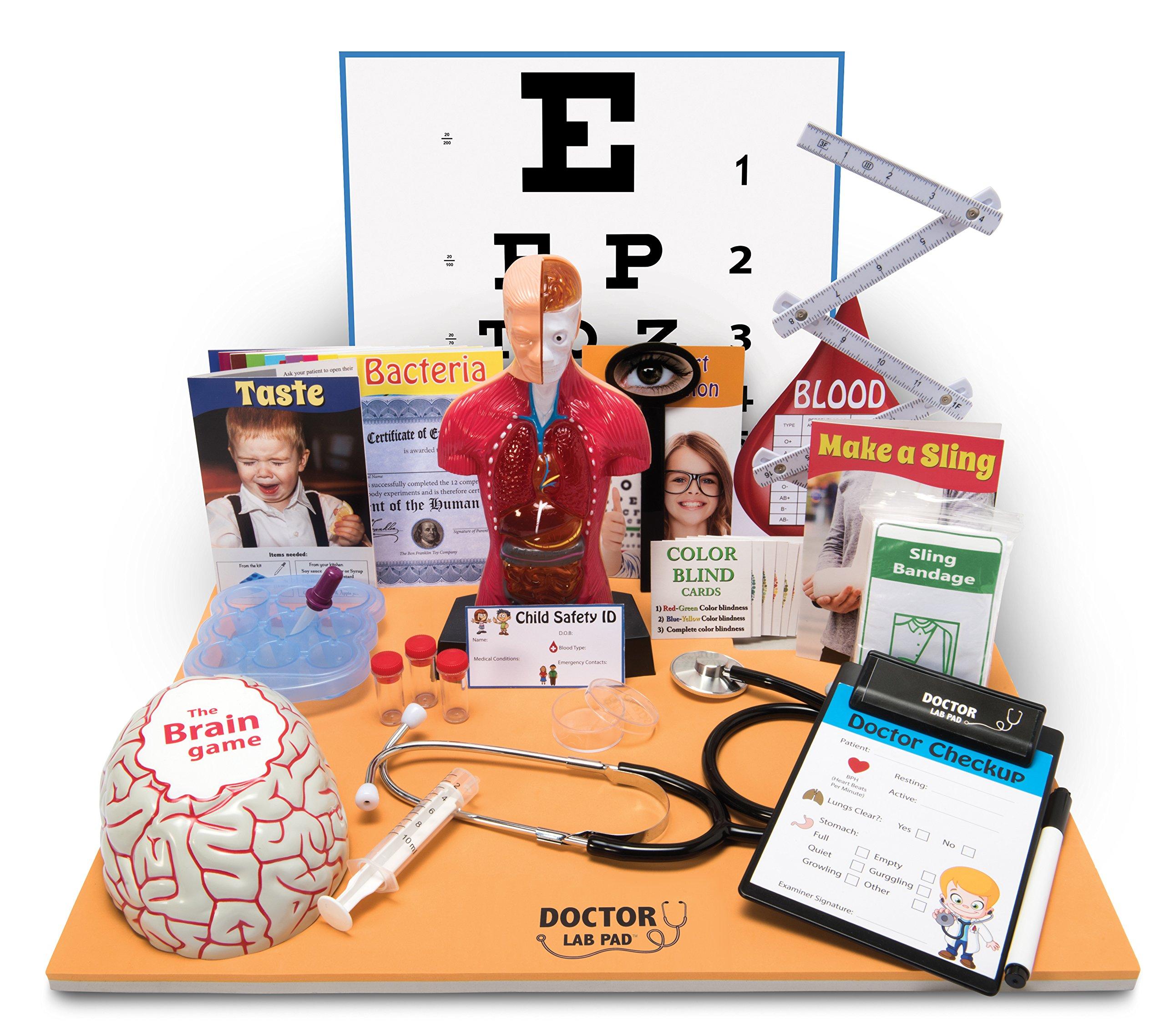 Ben Franklin Toys Doctor Lab Pad Biology Kit by Ben Franklin Toys (Image #1)