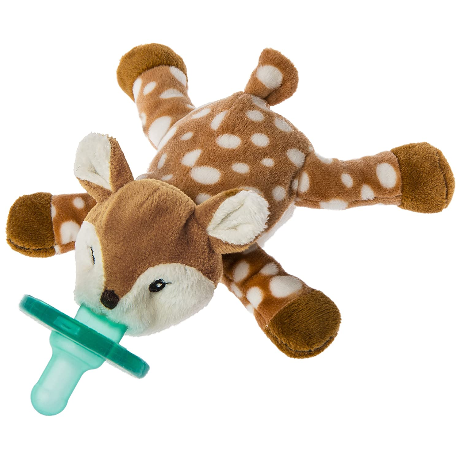 Mary Meyer Wubbanub Soft Toy and Pacifier, Amber Fawn