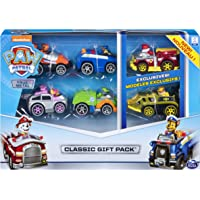 Paw Patrol 6053362 True Metal Classic Gift Pack of DIE-CAST Vehicles, 6 Collectibles
