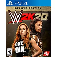 WWE 2K20 Deluxe Edition Play Station 4 - Special Edition - PlayStation 4