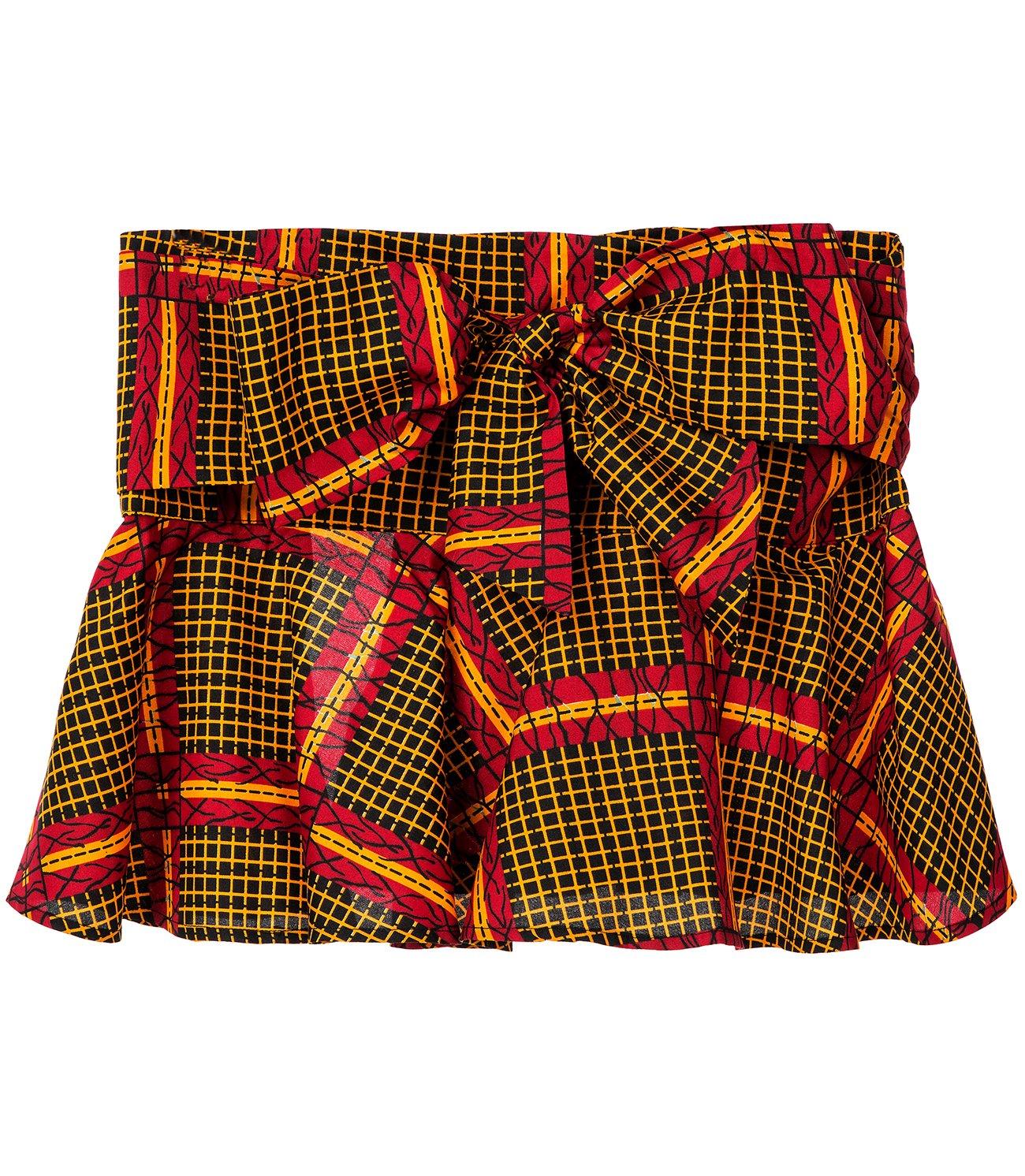 Shenbolen Women African Print Dashiki Tradition Waist Belts One Size (One Size, B)