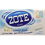 Jabon Zote Blanco Finas Escamas Para Lavadora (Laundry Flakes for Washiing Machines), 17.6 Oz., (Pack of 1)