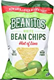 Beanitos Hint of Lime Navy Bean Chips with Sea Salt, 6 oz