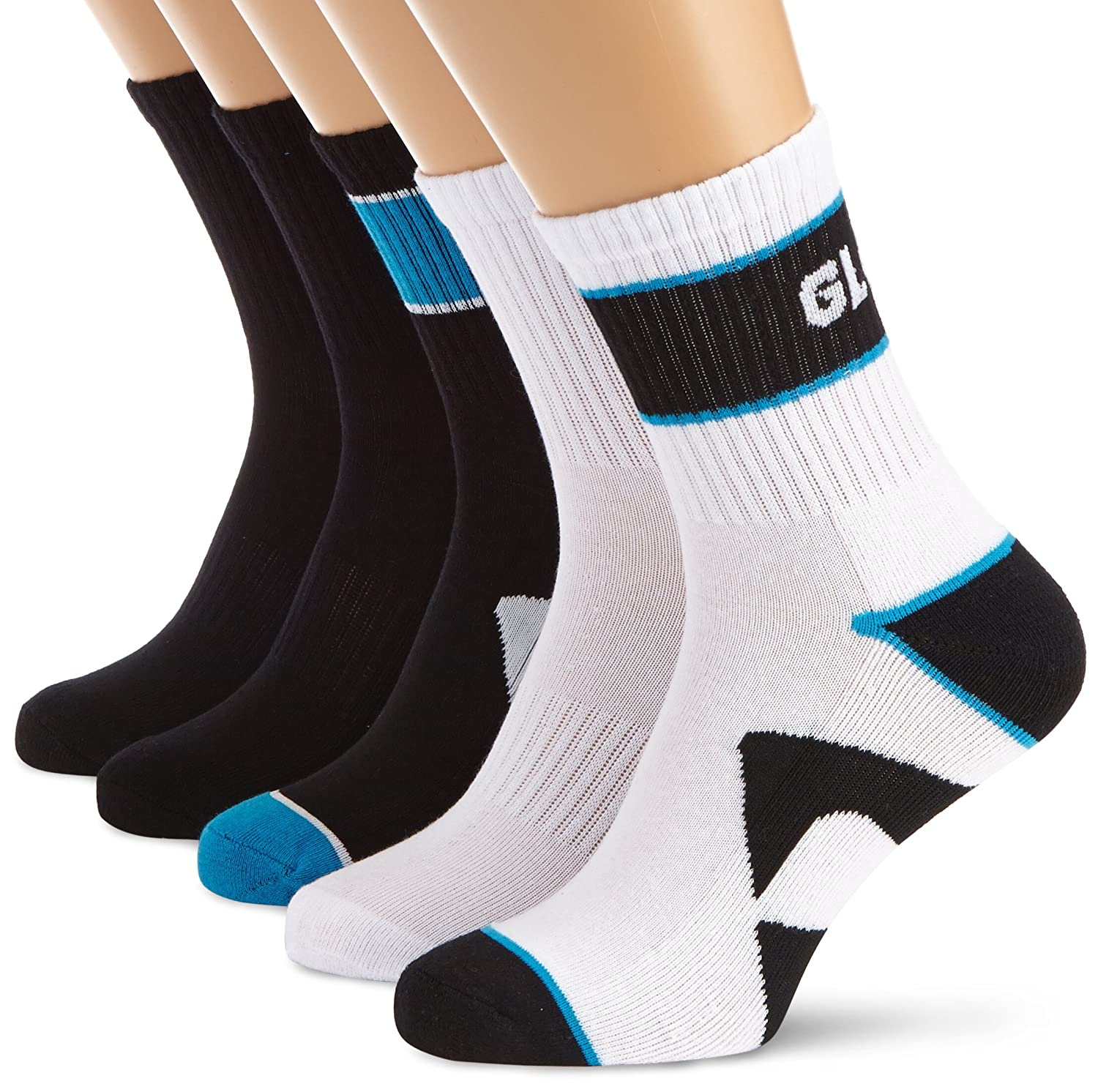 Globe Destroyer Socks Chaussettes homme - Multicolore Textile Size 7-11 lot de 5 GB70919066