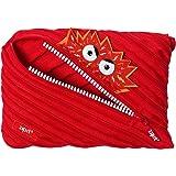 ZIPIT Talking Monstar, Jumbo Pencil Case, Red