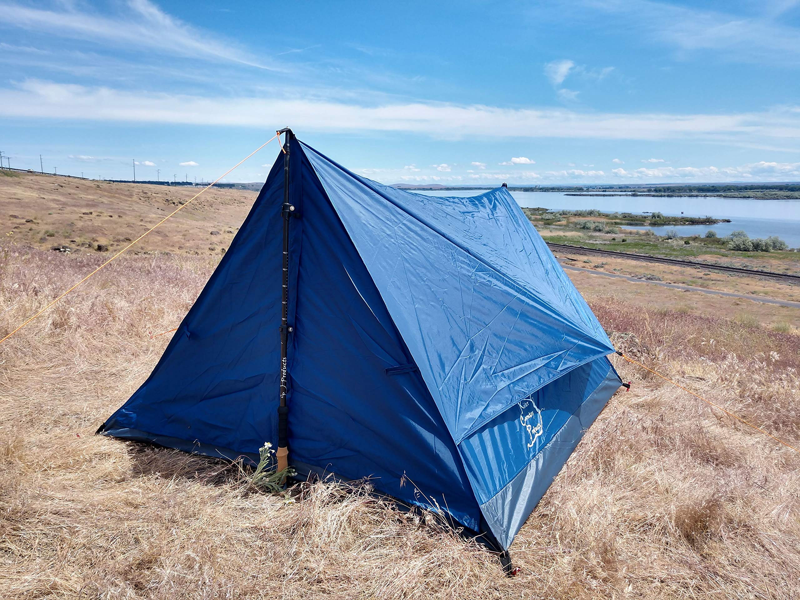 River Country Products Trekker Tent 2.2, Two Person Trekking Pole Backpacking Tent by River Country Products