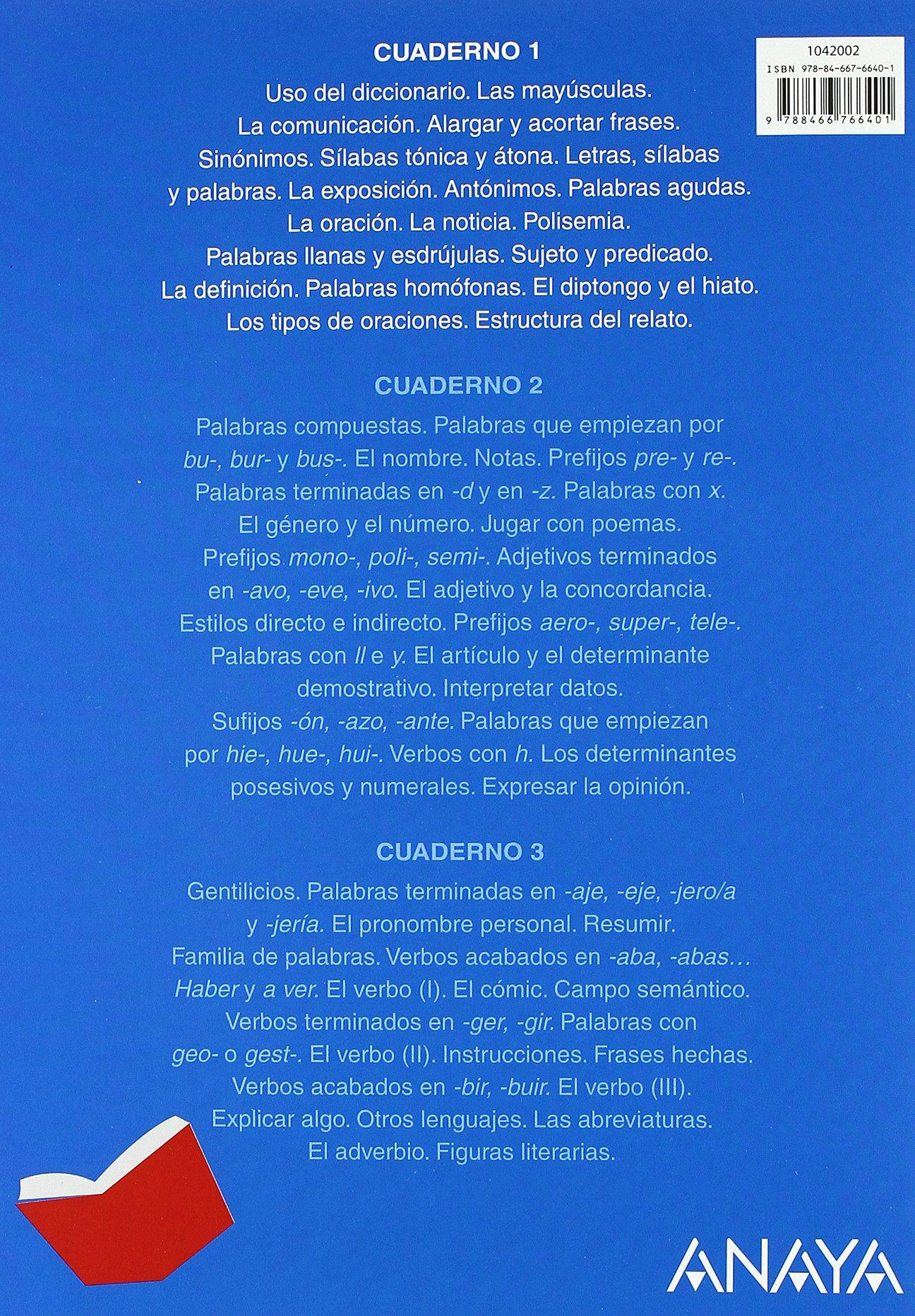 Lengua 4. Cuaderno 1. (Abre la puerta): Amazon.es: María Isabel Fuentes Zaragoza: Libros