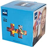 PLUS PLUS - Open Play Set - 600 Piece - Basic Color Mix, Construction Building Stem Toy, Interlocking Mini Puzzle Blocks for