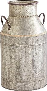 Amazon Brand – Stone & Beam Vintage Milk Planter, 18.5