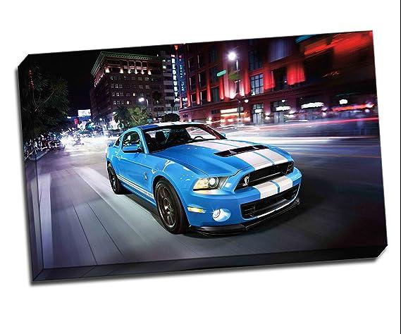 A0 A1 A2 A3 Maxi Ford Mustang Super Car Large Poster Wall Art Print